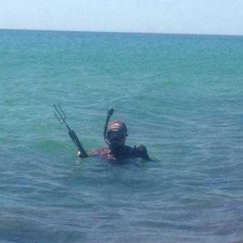 Охотник на рыбу