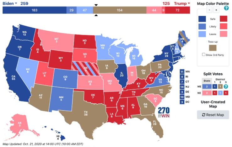 Кто победит на выборах в США?