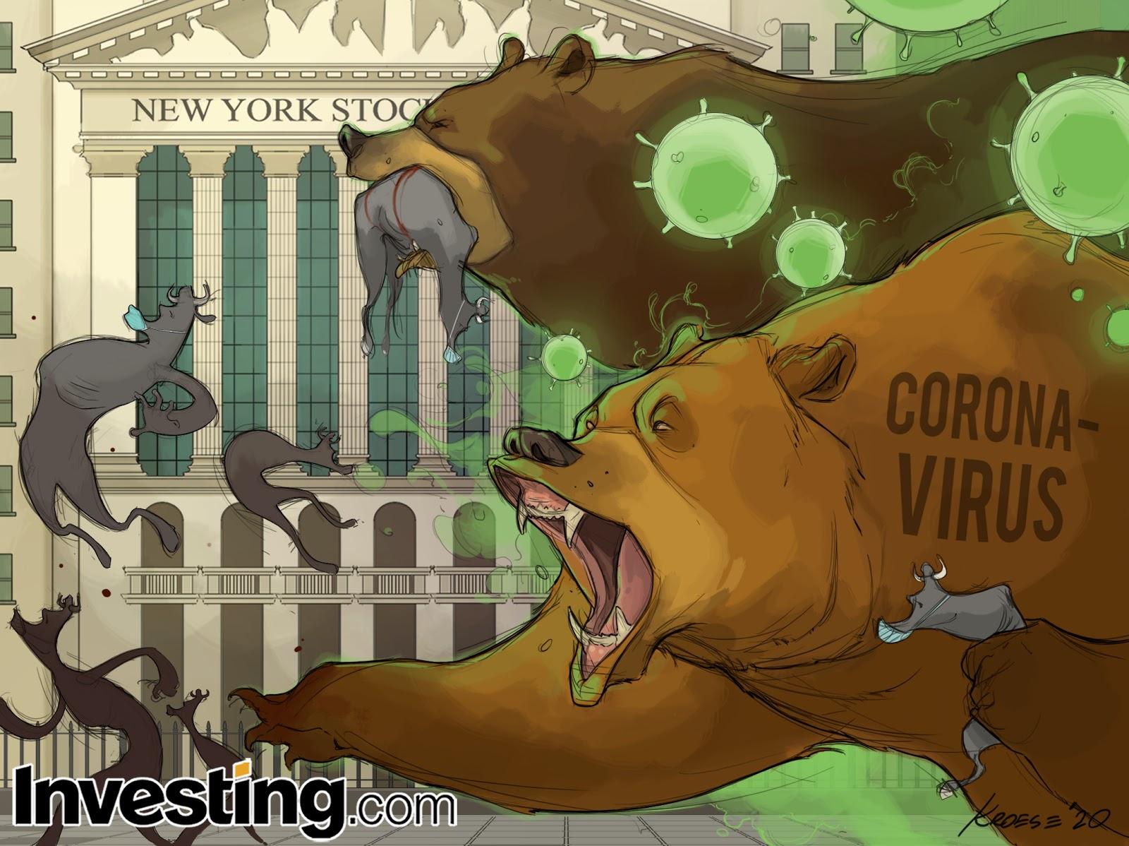 Коронавирус утянул рынки на дно