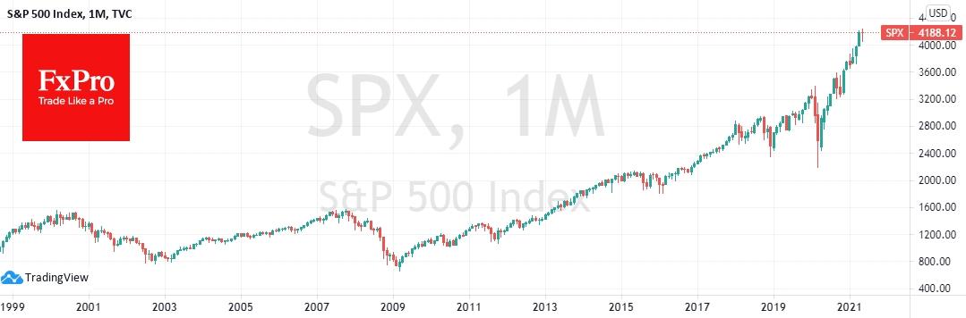 Доллар вернулся к минимумам года и нацелился ниже