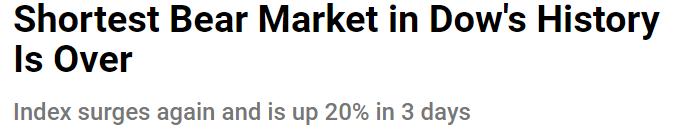 Чисто технически, «медвежий рынок» только начался