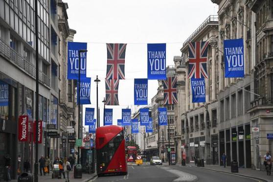 ВВП Великобритании рухнул на 20,4%
